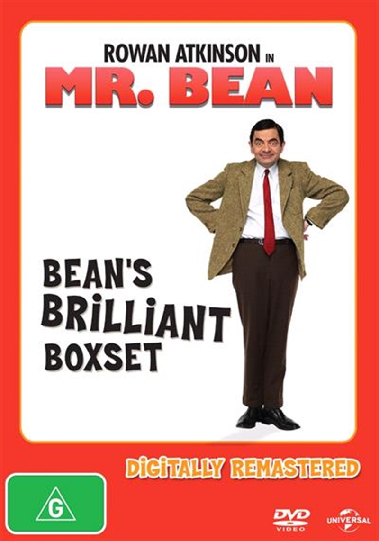 Mr. Bean's Brilliant - Vol 1-4   Boxset   DVD