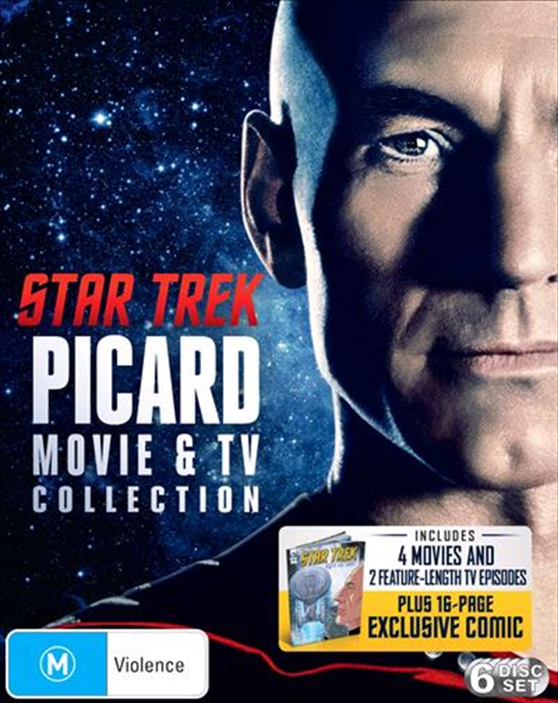 Star Trek - Limited Edition Jean-Luc Picard TV + Movie Collection | Blu-ray