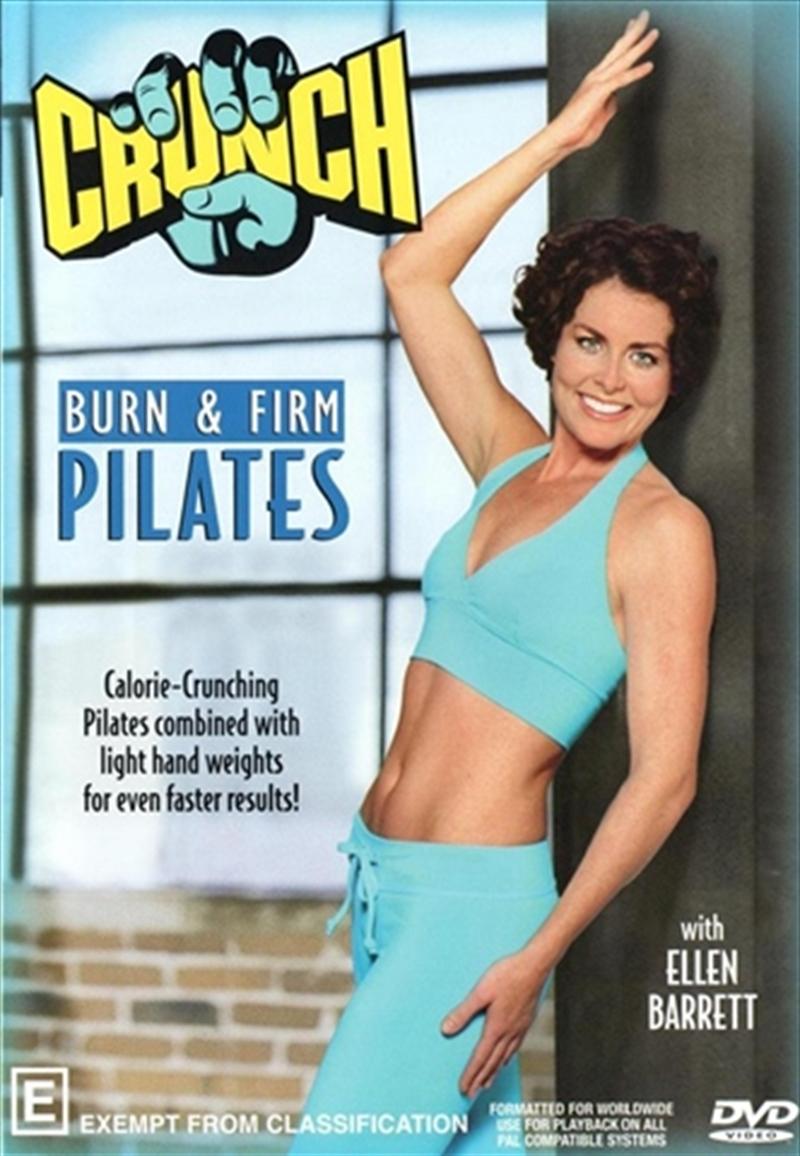 Crunch Burn & Firm Pilate | DVD