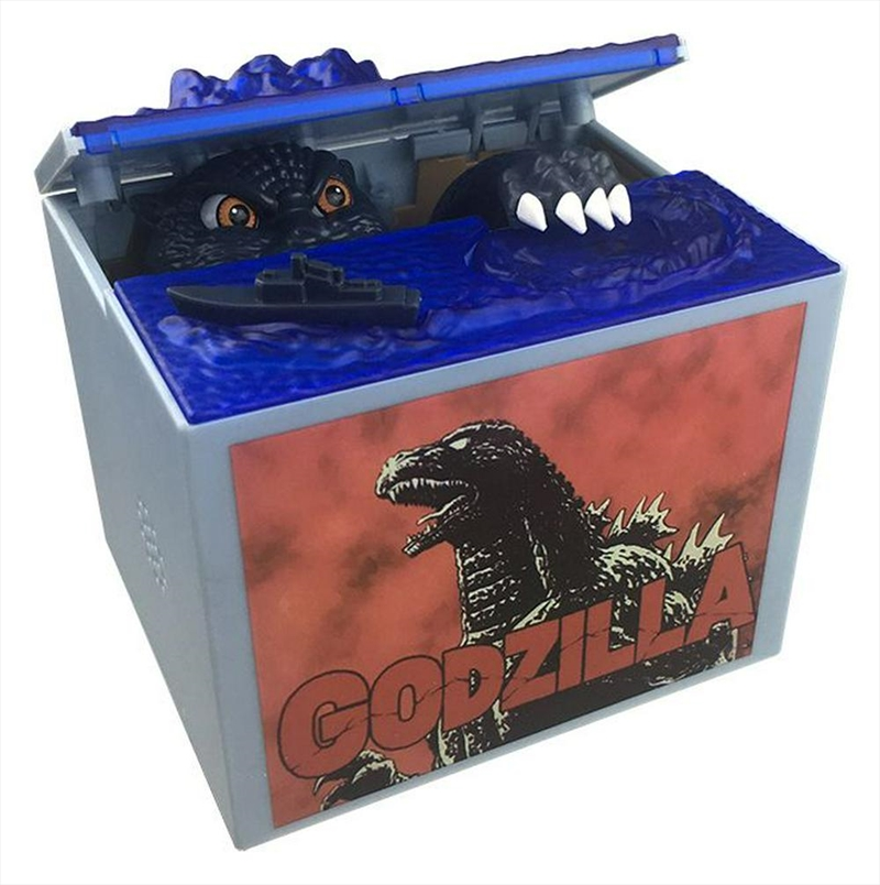 Coin Stealing Godzilla Money Bank | Miscellaneous