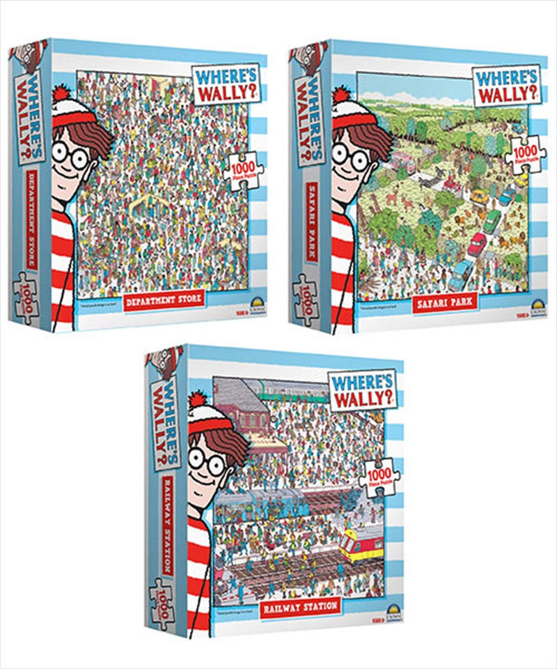 Where's Wally Assorted Design (Chosen At Random) | Merchandise