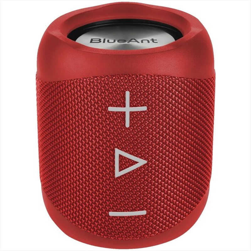 BlueAnt X1 Portable Bluetooth Speaker - Red | Accessories