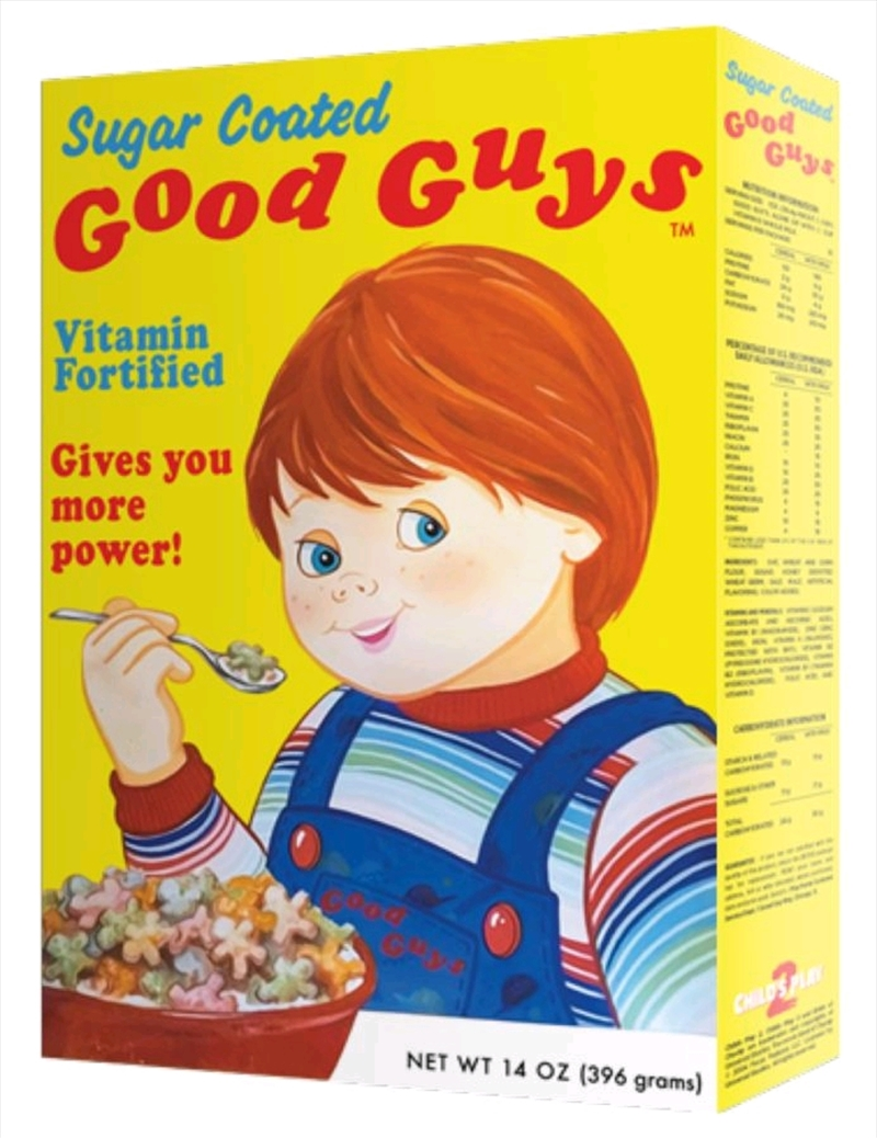 Child's Play - Good Guys Cereal Box | Collectable