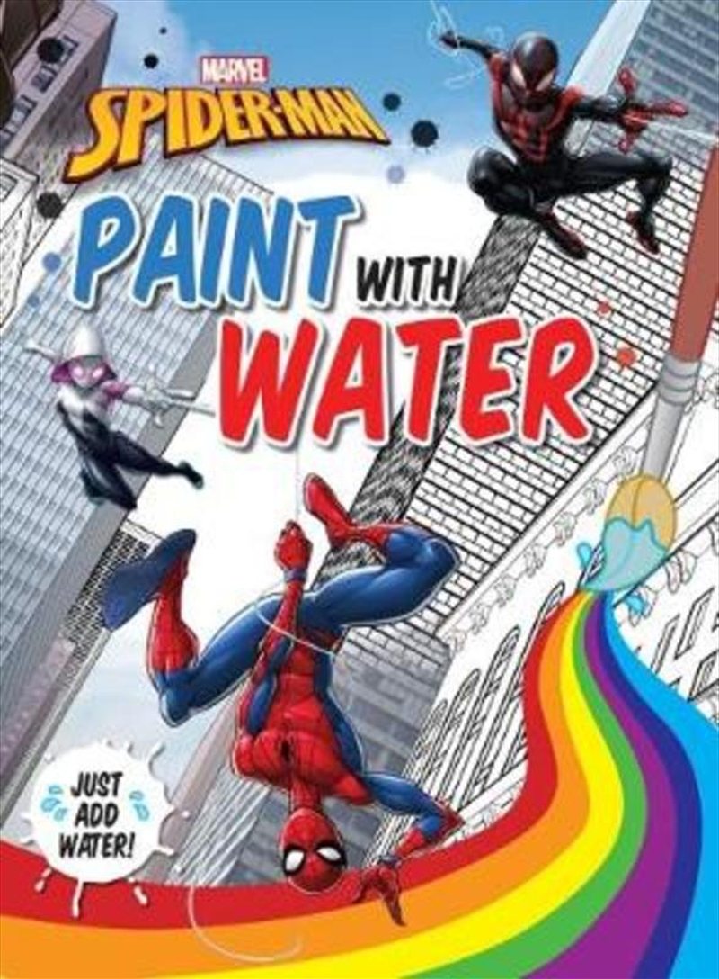 Spider-Man: Paint with Water | Paperback Book