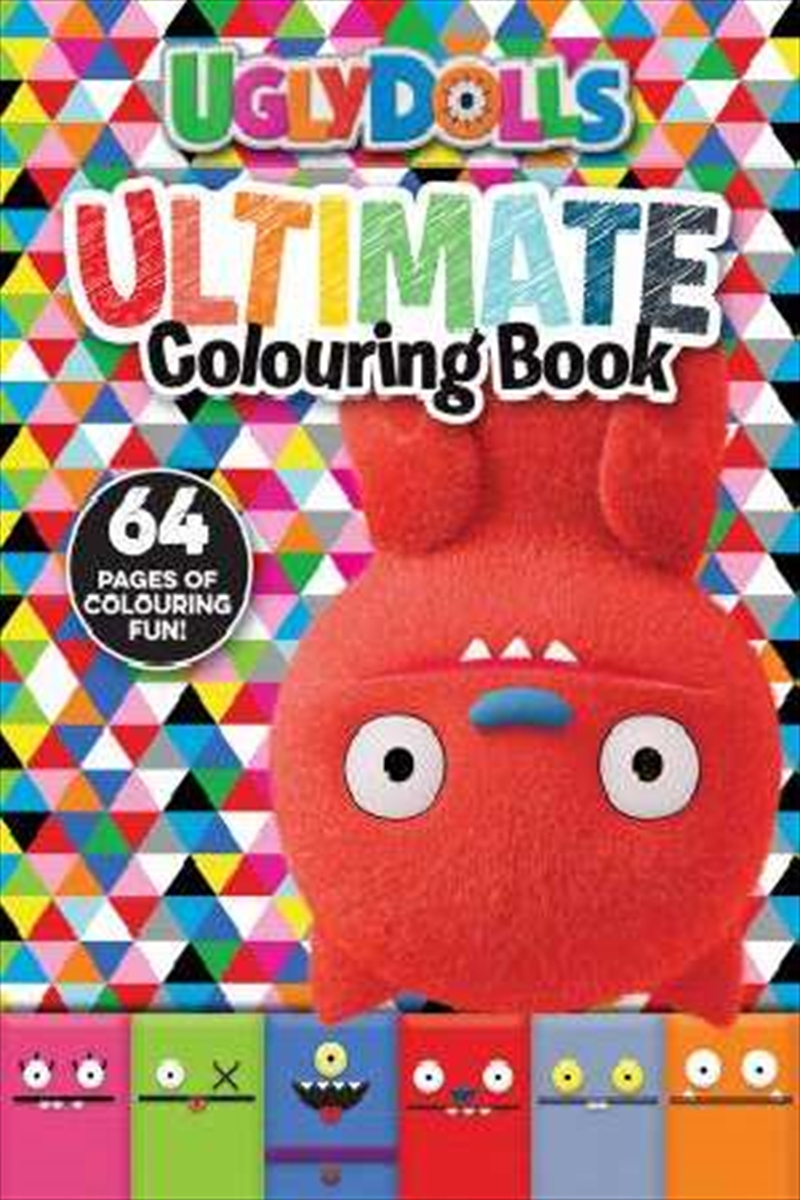 Uglydolls: Ultimate Colouring Book | Paperback Book