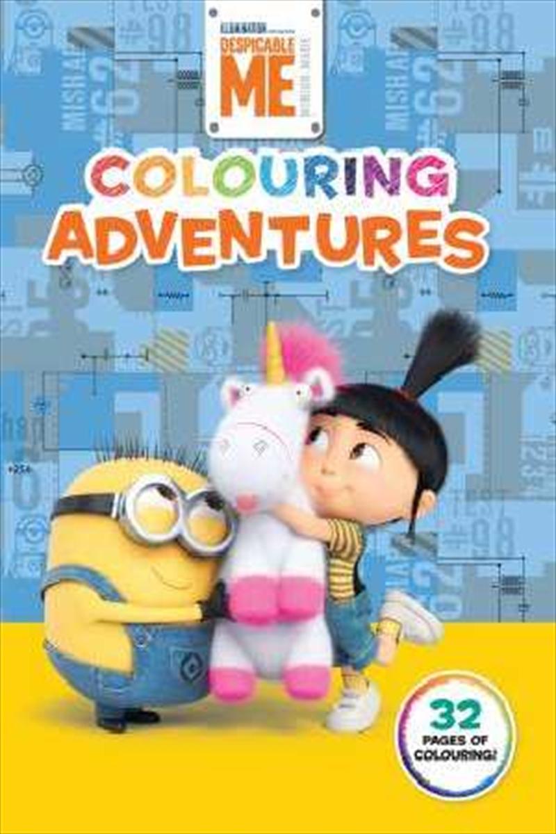 Despicable Me: Colouring Adventures | Paperback Book