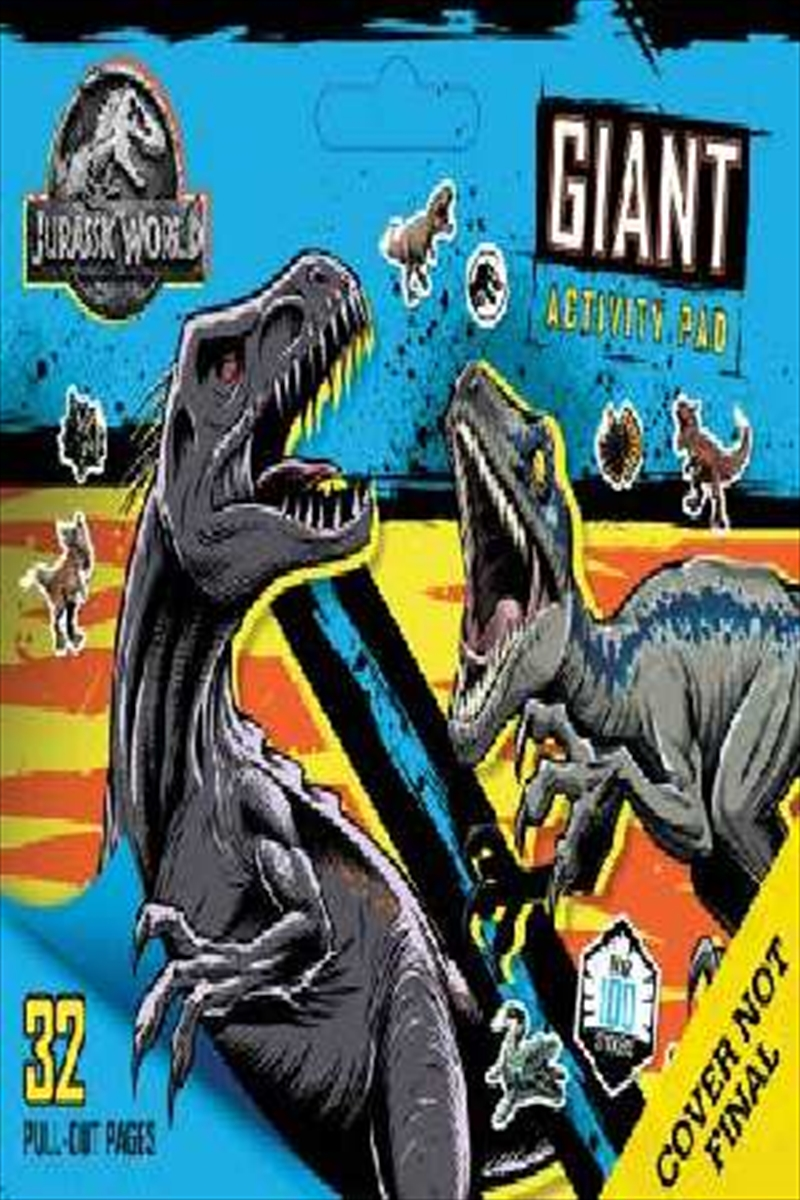Jurassic World: Giant Activity Pad | Paperback Book