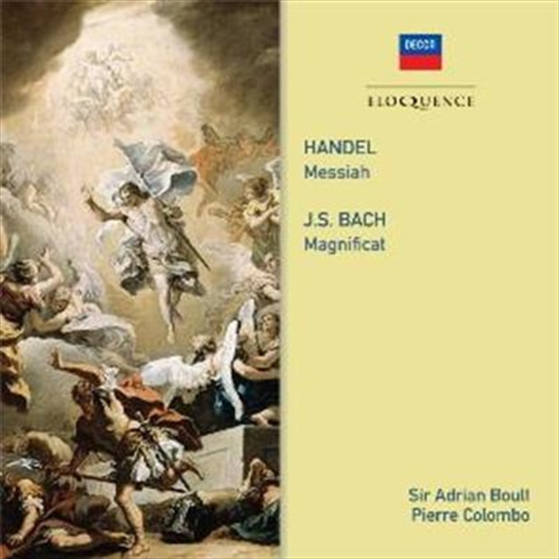 Handel - Messiah / Bach - Magnificat | CD