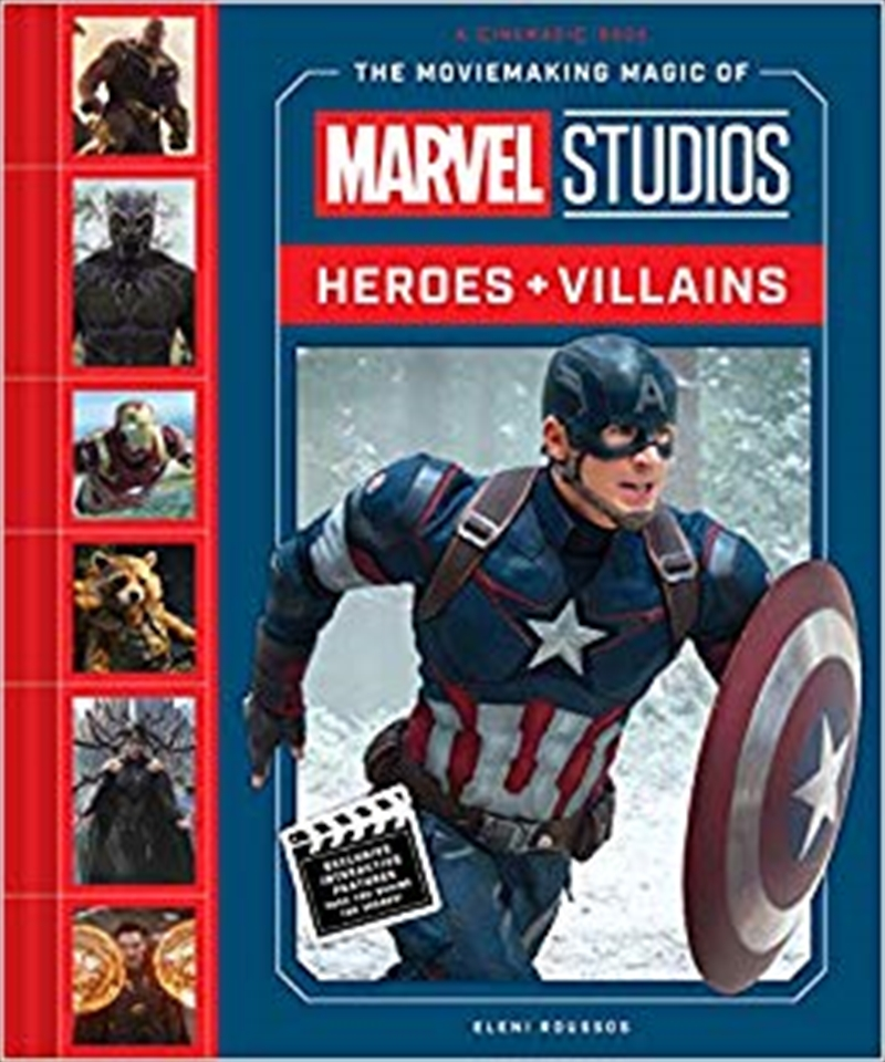 Moviemaking Magic of Marvel Studios: Heroes & Villains | Hardback Book