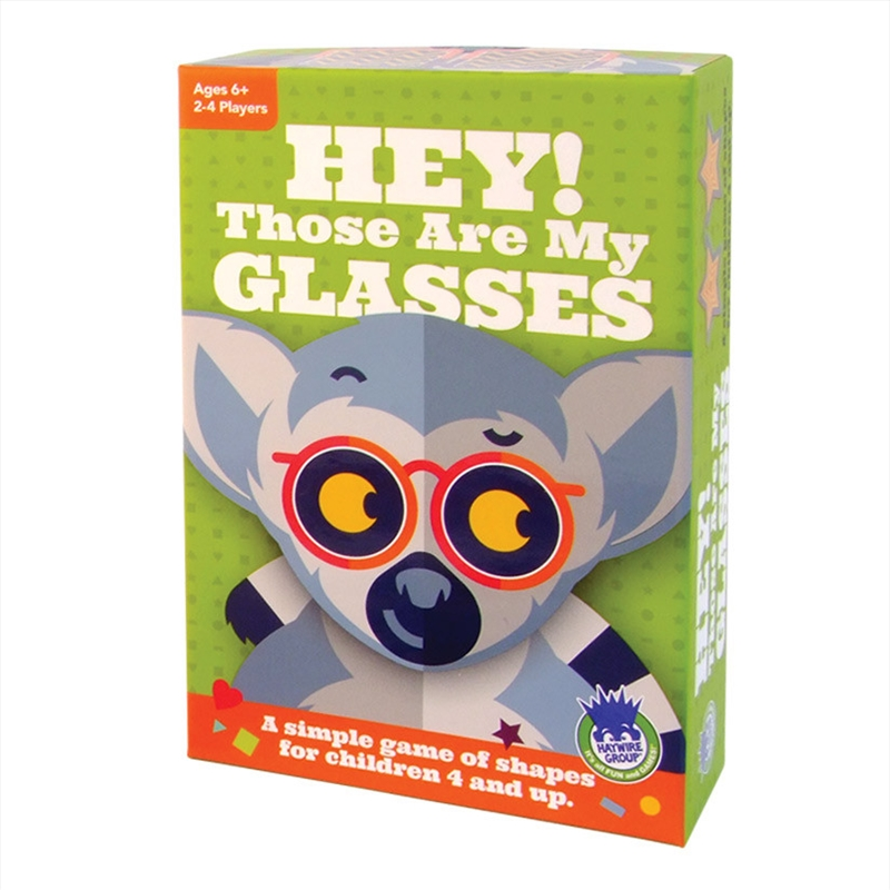 Hey! Those Are My Glasses Card Game | Merchandise