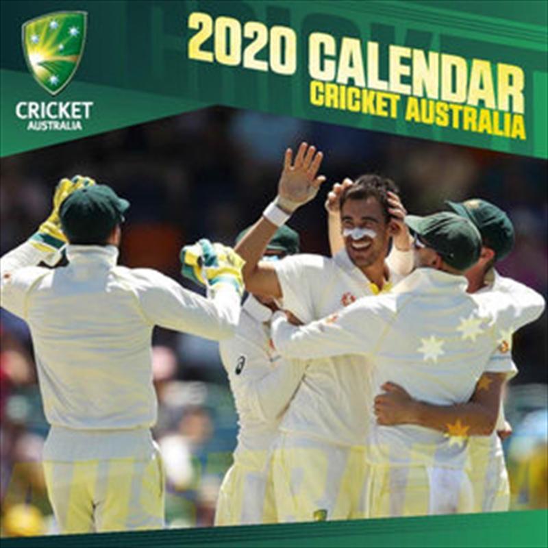 Cricket Australia - 2020 Wall Calendar | Merchandise