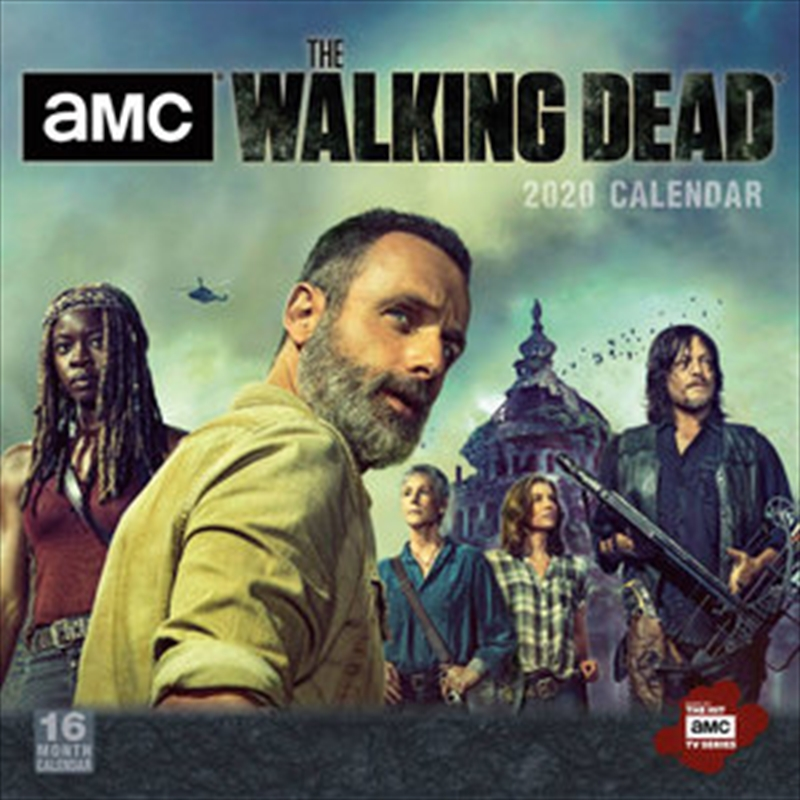 Walking Dead - AMC 2020 - 16 Month Calendar | Merchandise