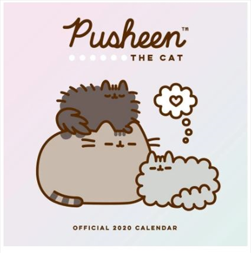 Pusheen 2020 Calendar - Official Square Wall Format Calendar | Merchandise