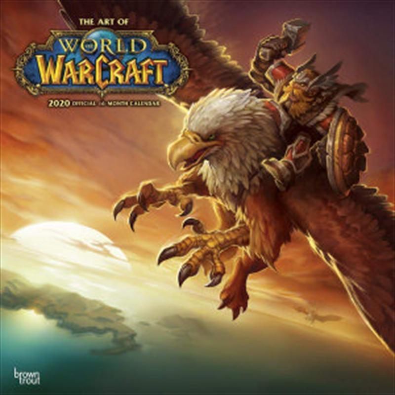 World of Warcraft 2020 Square Wall Calendar | Merchandise