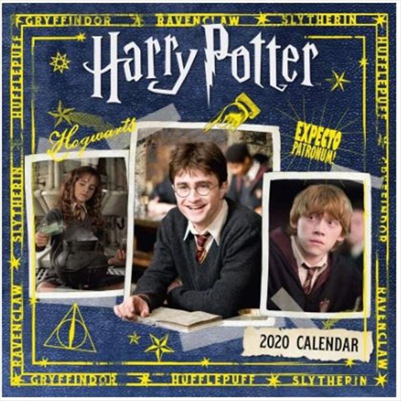 Harry Potter 2020 Calendar - Official Square Wall Format Calendar | Merchandise