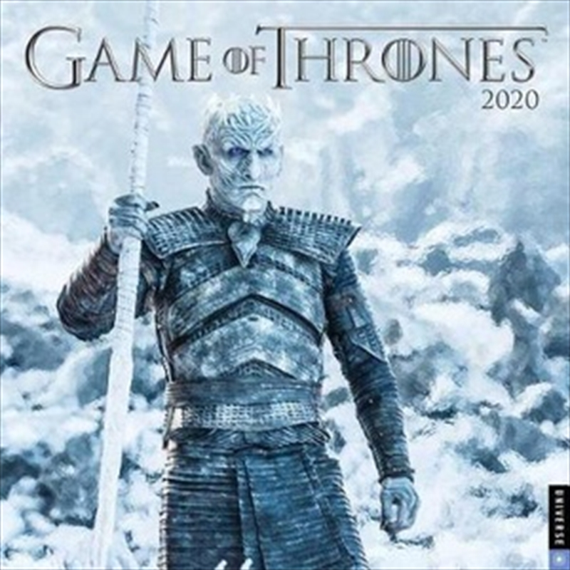 Game of Thrones 17-month 2019-2020 Calendar | Merchandise