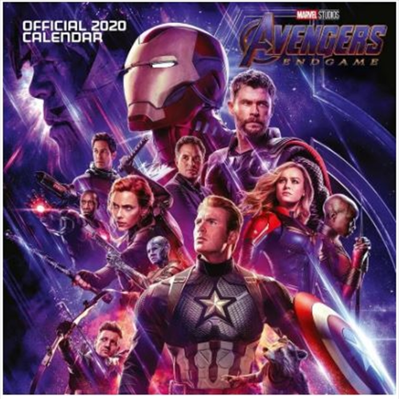 Marvel Avengers End Game - 2020 Official Wall Calendar | Merchandise