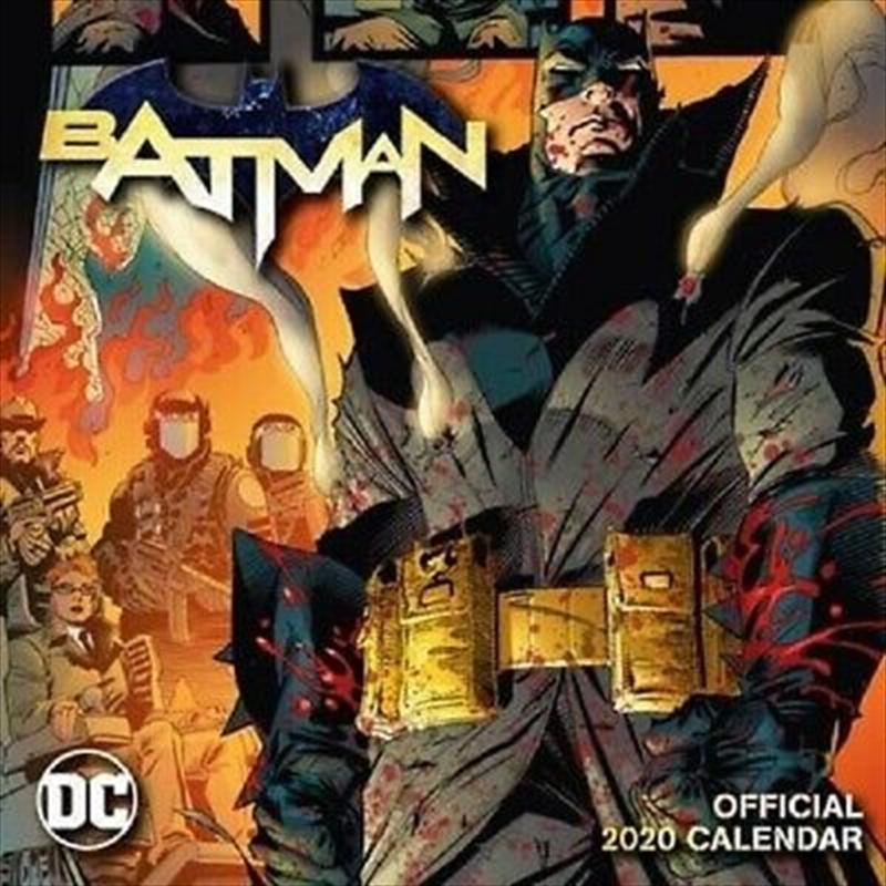 Batman Comics 2020 Calendar - Official Square Wall Format Calendar | Merchandise