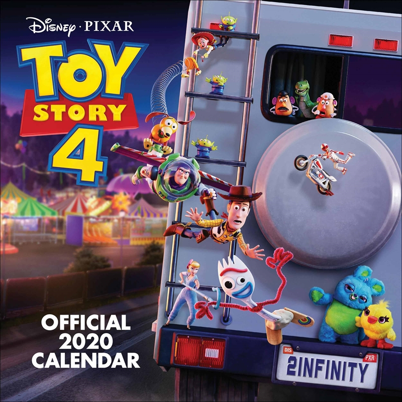 Toy Story 4 2020 Calendar - Official Square Wall Format Calendar | Merchandise
