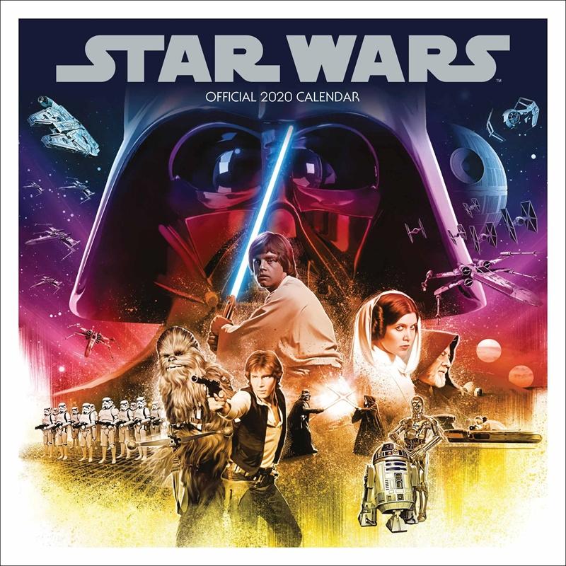 Star Wars Classic - 2020 Official Wall Calendar   Merchandise