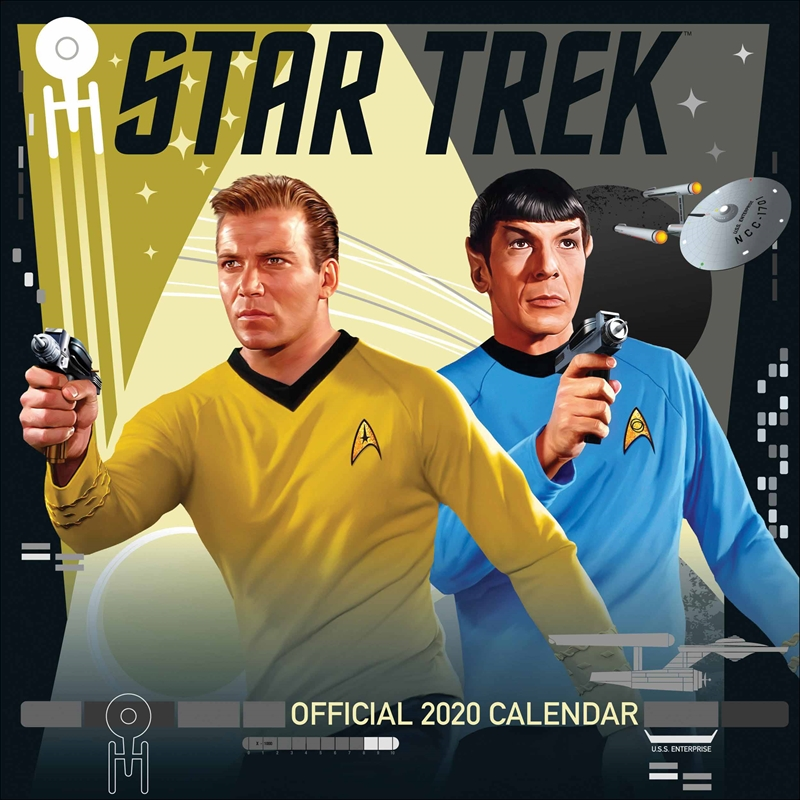 Star Trek TV Series Classic 2020 Calendar - Official Square Wall Format Calendar | Merchandise