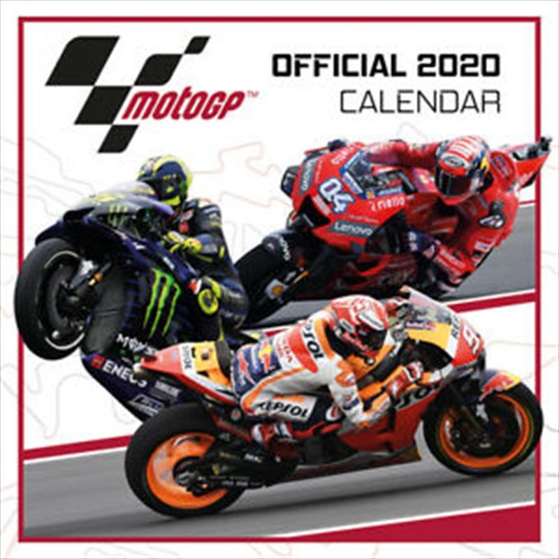 Moto GP 2020 Calendar | Merchandise