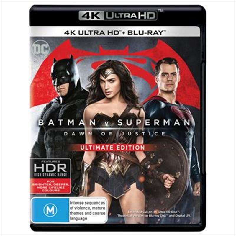 Batman V Superman - Dawn Of Justice | UHD