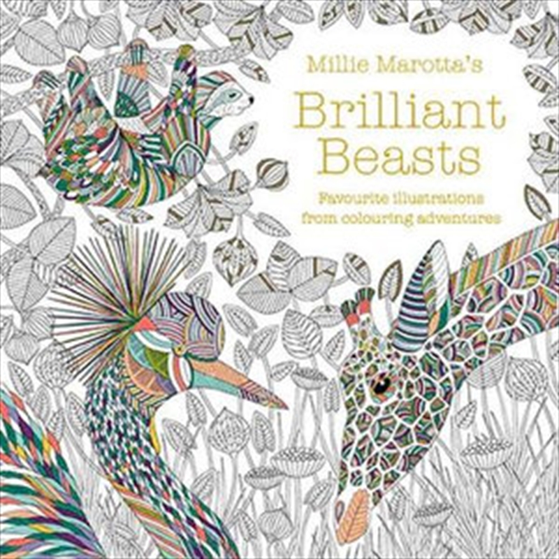 Millie Marotta's Brilliant Beasts | Paperback Book