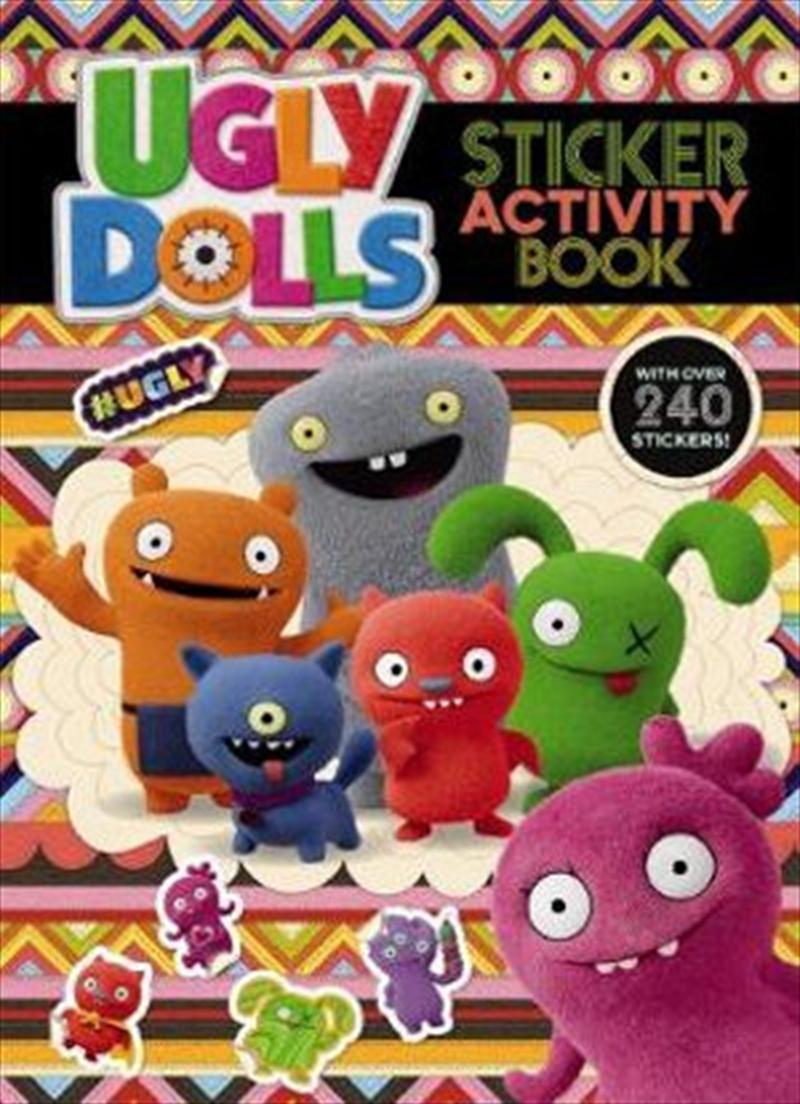 UglyDolls Sticker Activity Book   Paperback Book