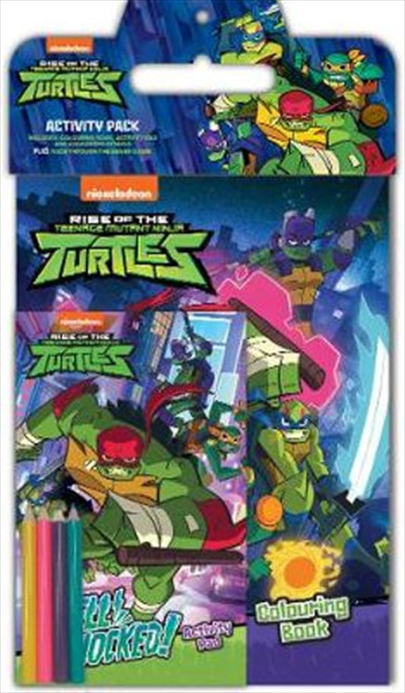 Rise of the Teenage Mutant Ninja Turtles Activity Pack | Paperback Book