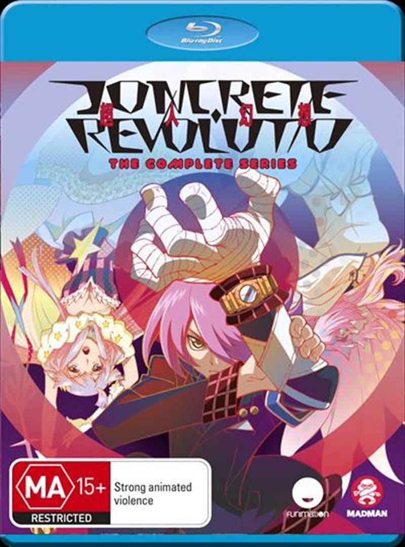 Concrete Revolutio - Eps 1-24 | Complete Series | Blu-ray