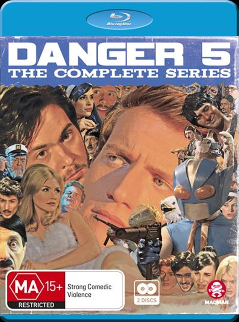 Danger 5 | Complete Series | Blu-ray