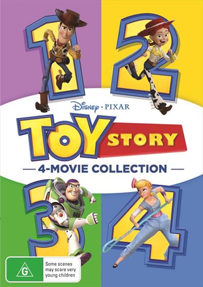 Toy Story Quadrilogy | DVD