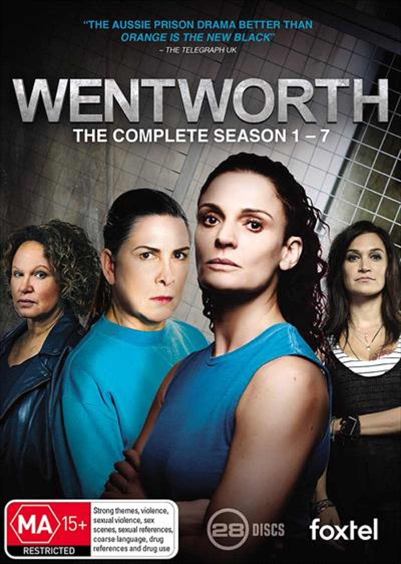 Wentworth - Season 1-7 | Boxset | DVD