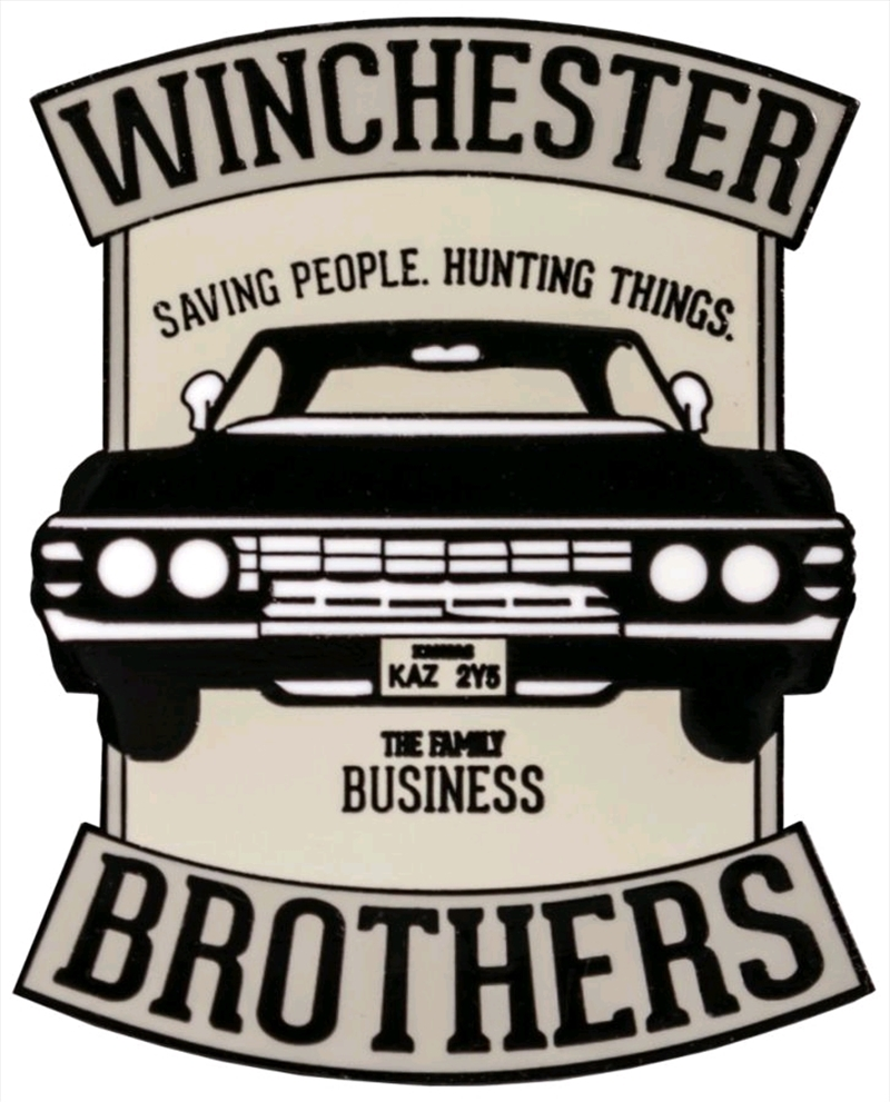 Supernatural - Winchester Brothers Enamel Pin | Merchandise