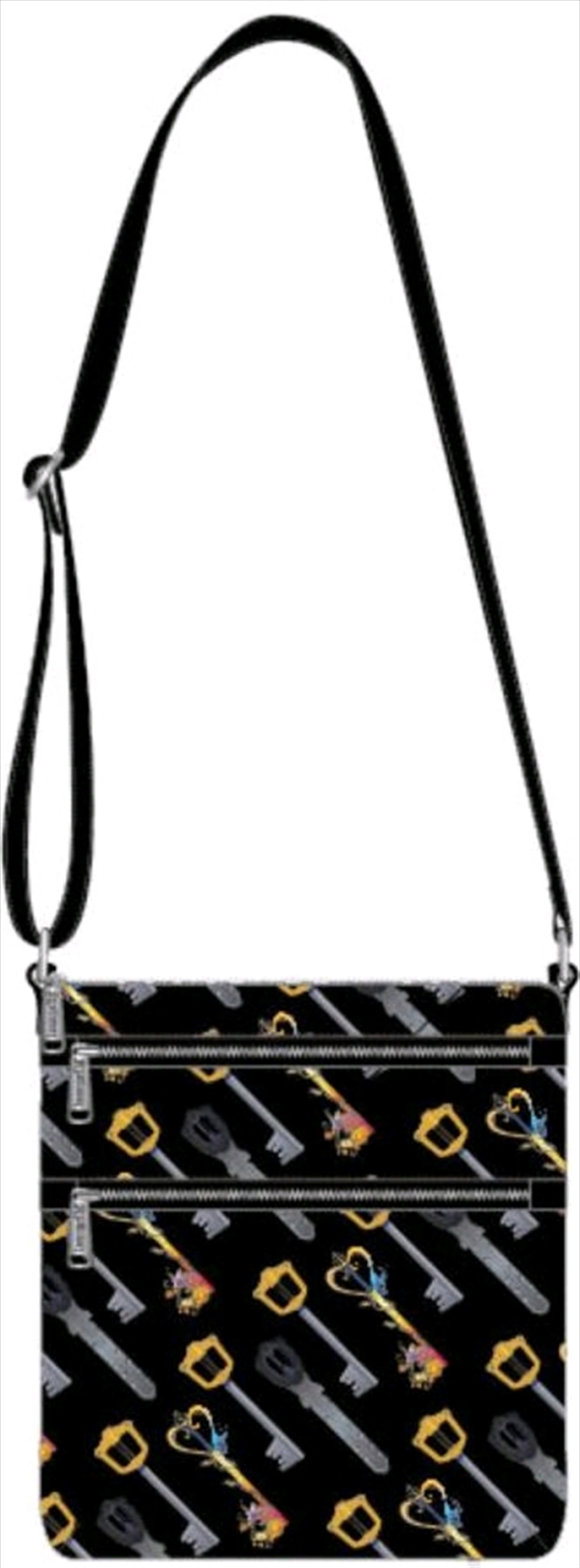 Kingdom Hearts - Keys Passport Bag | Apparel