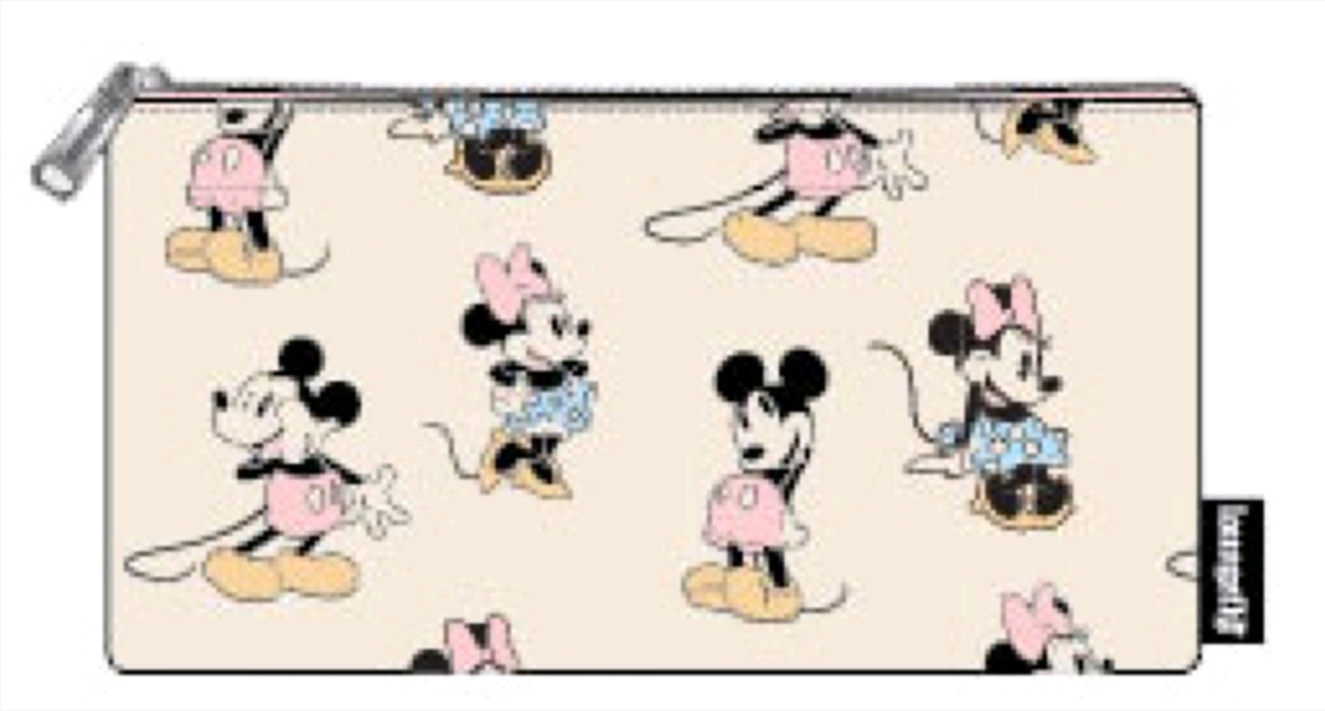 Mickey Mouse - Mickey & Minnie Pastel Pouch | Merchandise