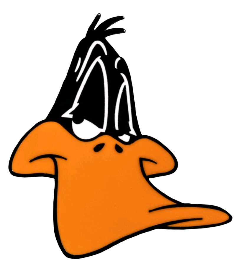Looney Tunes - Daffy Duck Enamel Pin | Merchandise