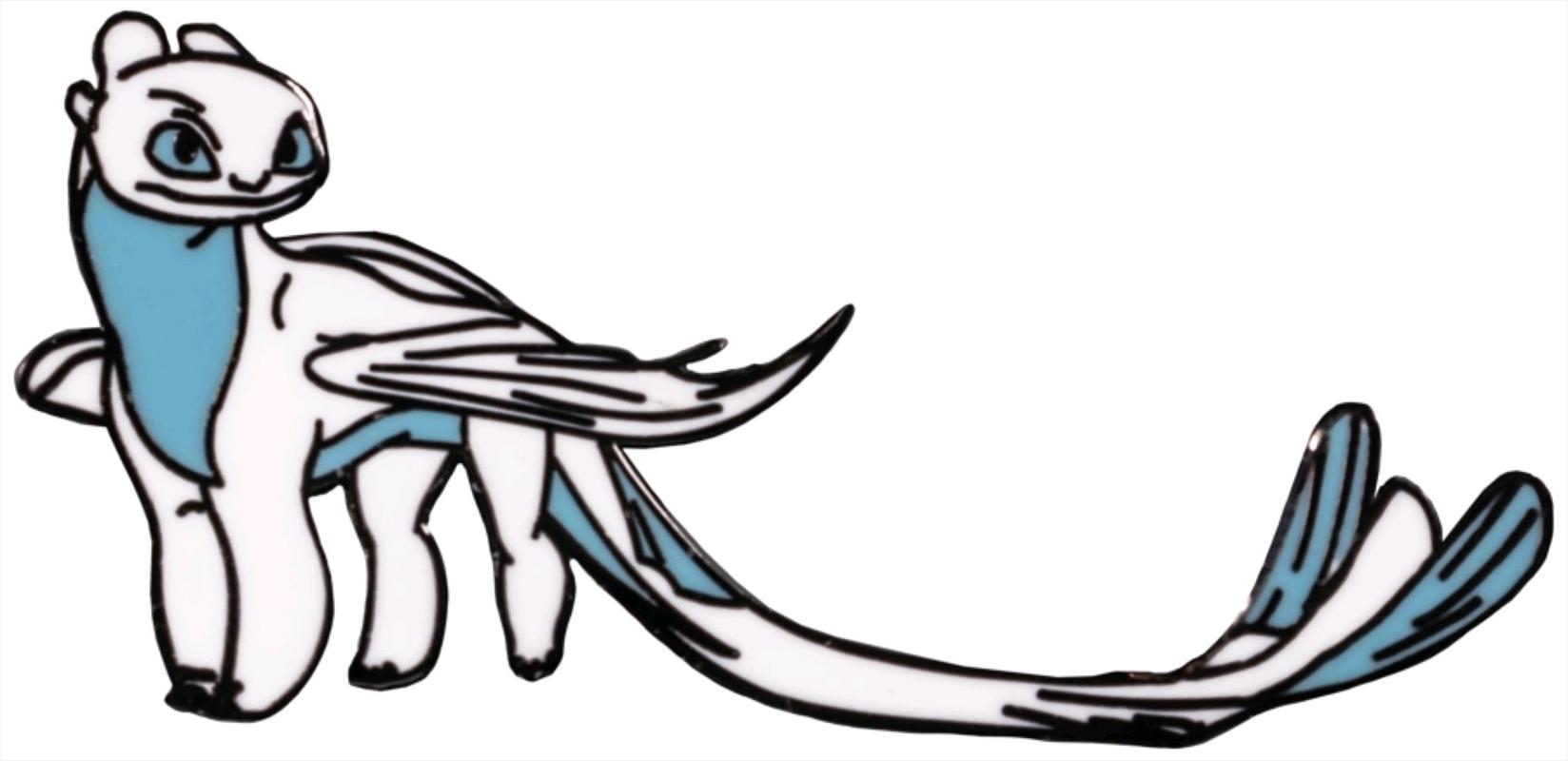 How to Train your Dragon - Lightfury Enamel Pin | Merchandise