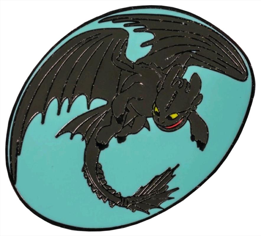 Toothless Flying Enamel Pin   Merchandise