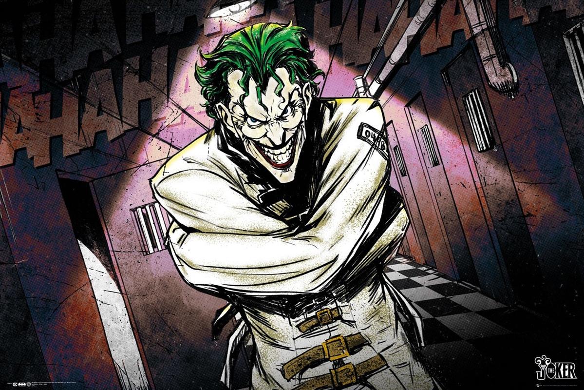 DC Comics Joker Asylum | Merchandise