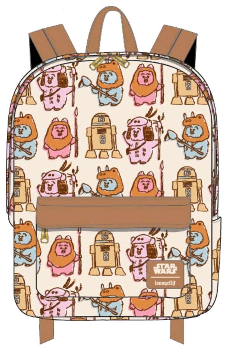 Star Wars - Ewoks Pastel Backpack   Apparel