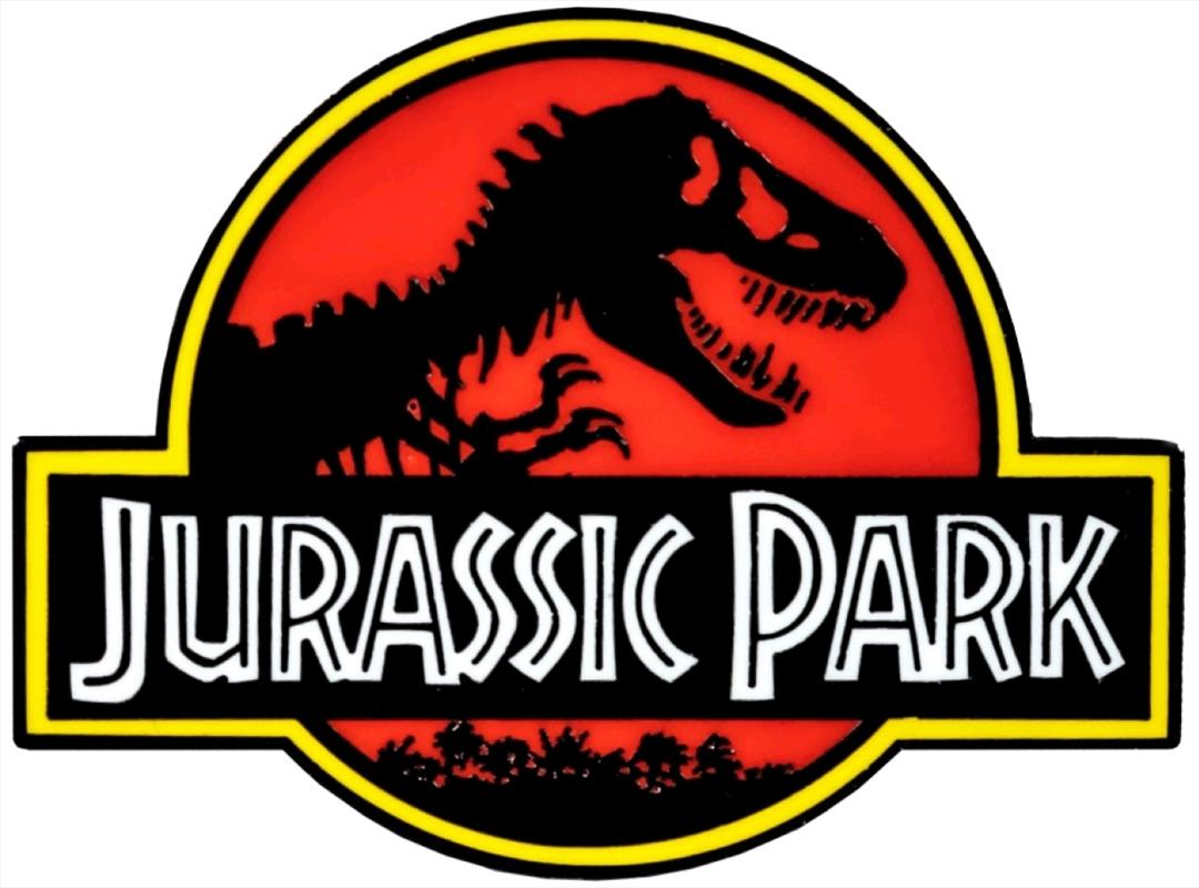 Jurassic Park - Jurassic Park Logo Enamel Pin | Merchandise