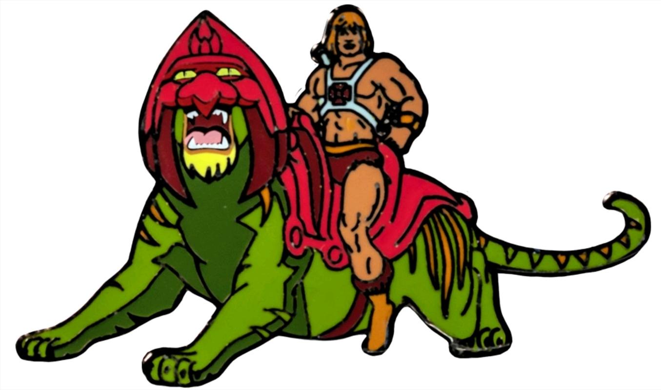 Masters of the Universe - He-man on Battle Cat Enamel Pin | Merchandise