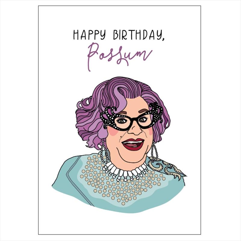 Dame Edna Birthday | Merchandise