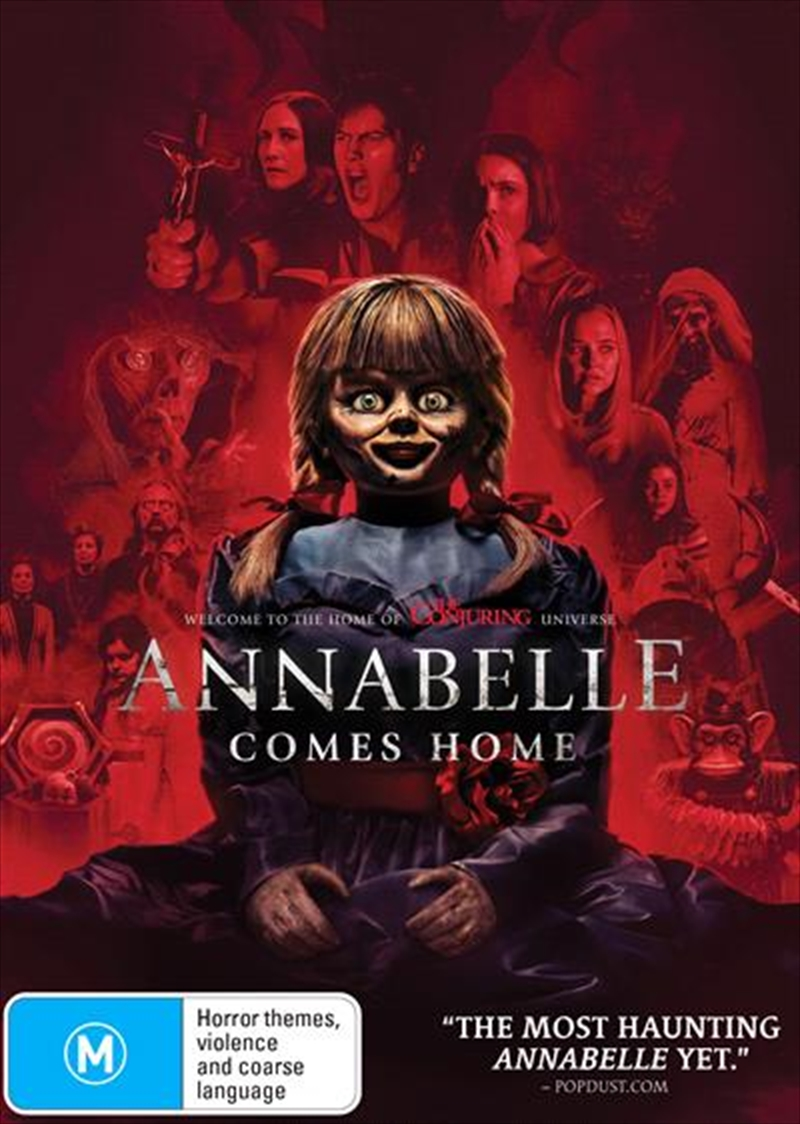 Annabelle Comes Home | DVD