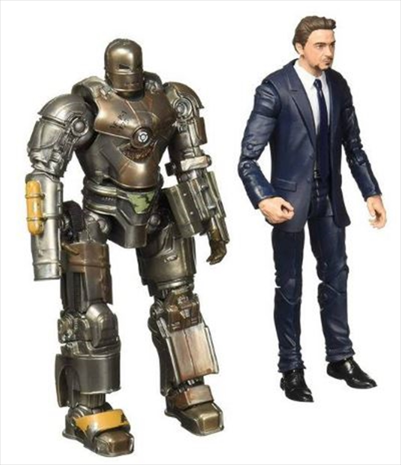 Marvel Studios Legends Series - Tony Stark & Iron Man Mark 1  (2-Pack) Action Figures. | Merchandise