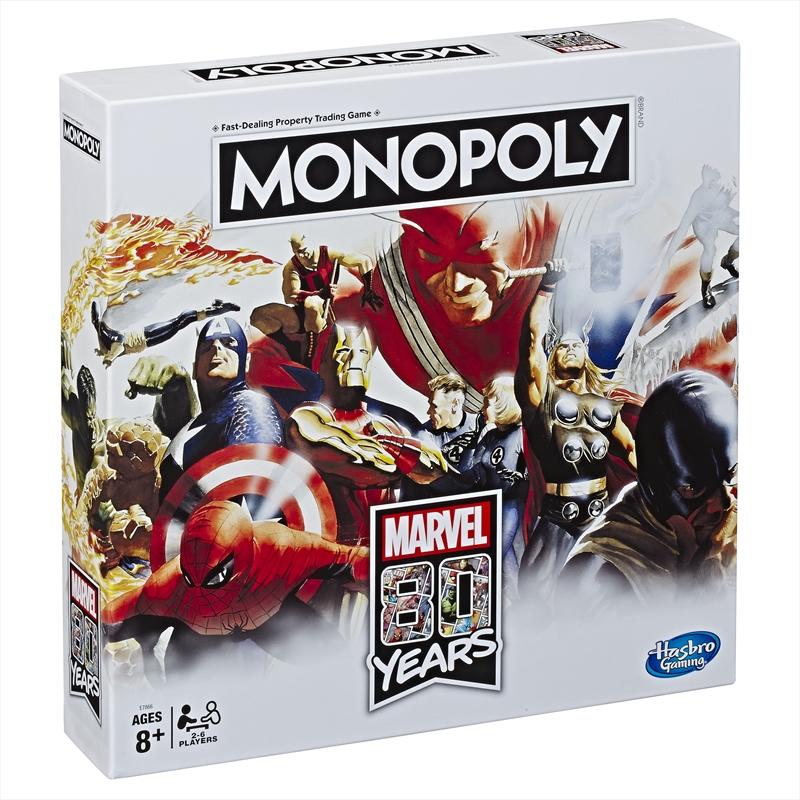 Monopoly - Avengers 80th Anniversary   Merchandise