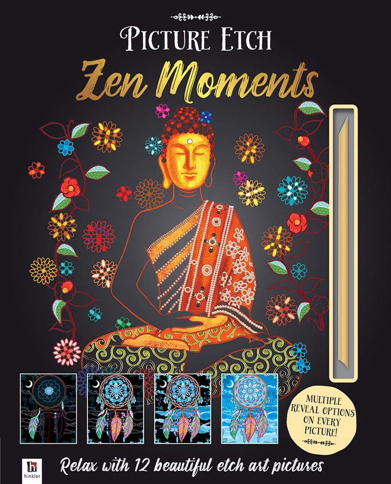 Picture Etch Zen Moments | Hardback Book