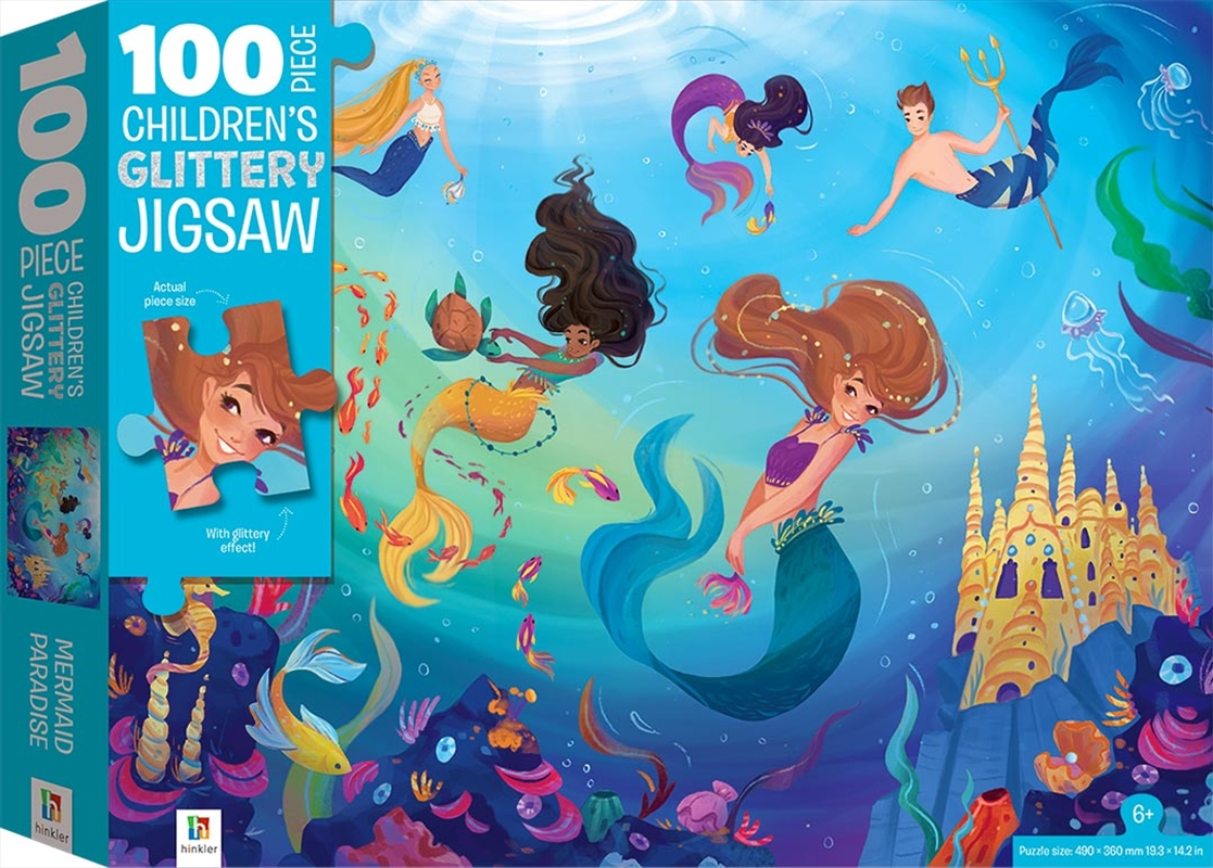 Mermaids 100 Piece Children's Jigsaw with Treatments | Merchandise